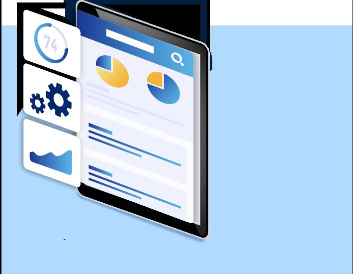 自社の業務に合わせた業務データ管理プラットフォームをスピーディーに構築できる自由度の高さ!
