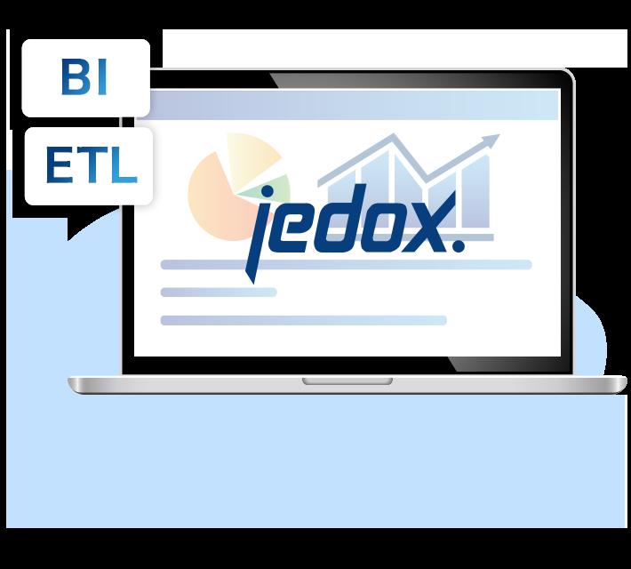 BIツール、ETLツールの機能も搭載しているため、Jedox以外のツールを用意する必要がない!