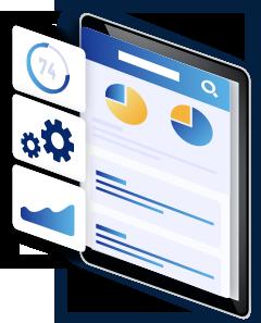 自由度の高い業務データ管理システムを 自社でスピーディーに構築できる